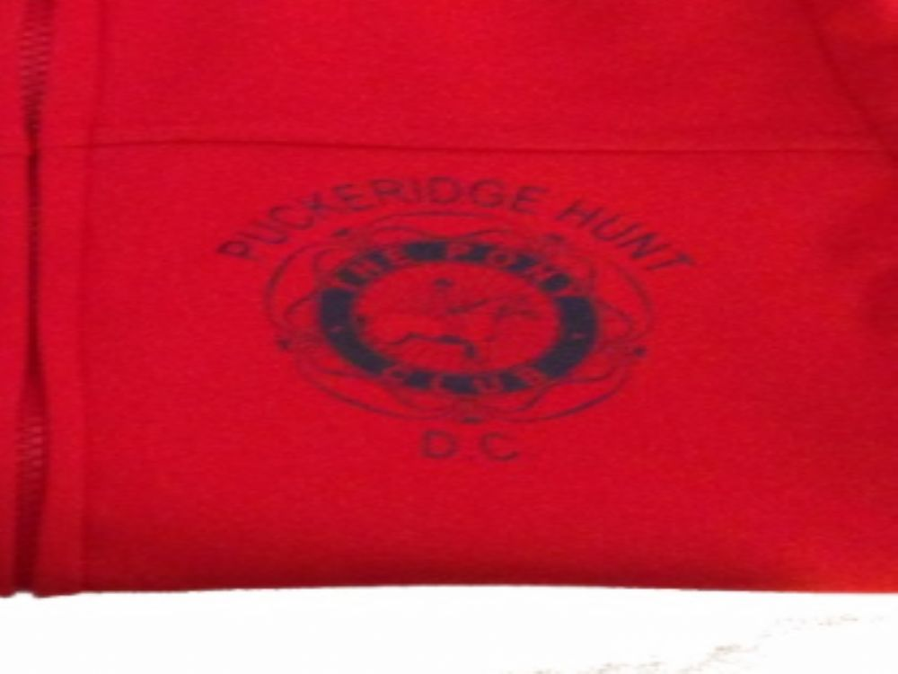 Ladies R121F RED soft shell jacket Puckeridge  Pony Club